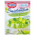 DR. OETKER Masa śmietanowa Matcha & Limonka 70g