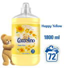 COCCOLINO Płyn do płukania Happy Yellow 1.8 l