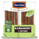 TARCZYŃSKI Naturalnie Kabanosy z szynki 180g