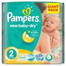 PAMPERS New Baby Pieluchy Rozmiar 2 Mini (3-6kg) 100szt 1szt