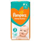 PAMPERS Sleep&Play Pieluchy Rozmiar 3 Midi (4-9kg) 58 szt 1szt