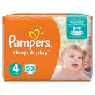 PAMPERS Sleep&Play Pieluchy Rozmiar 4 Maxi (8-14kg) 50 szt 1szt