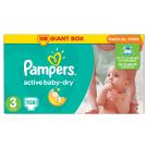 PAMPERS Active Baby ,Pieluchy Rozmiar 3 Midi  (4-9kg) 108 szt 1szt