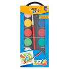 BIC Kids Farby akwarelowe 12 kolorów 1szt