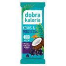 DOBRA KALORIA Baton Kokos &  Czarna Porzeczka 30g