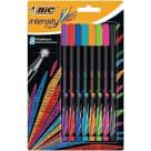 BIC Intensity Fine Cienkopis miks kolorów Blister 8 sztuk 1szt