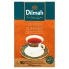 DILMAH Ceylon Supreme Herbata czarna 50 torebek 100g