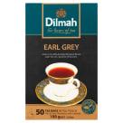 DILMAH Earl Grey Herbata czarna z aromatem bergamoty 50 torebek 100g