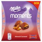 MILKA Moments Czekoladki mleczne Almond Caramel 11 szt. 1g