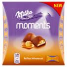MILKA Moments Czekoladki mleczne Toffee Wholenut 11 szt. 97g