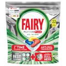 FAIRY PLATINUM Kapsułki do zmywarki cytrynowe 22 szt 1szt