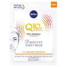 NIVEA Q10 Plus C 10-minutowa maska w płachcie Q10 28 ml 1szt