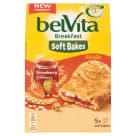 BELVITA Breakfast Ciastka zbożowe z nadzieniem truskawkowym 250g
