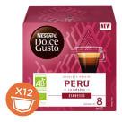 NESCAFÉ Dolce Gusto Espresso Peru Kawa w kapsułkach BIO 12 szt. 84g