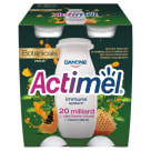 DANONE Actimel Napój mleczny mięta-papaja-miód 4 szt. 400g