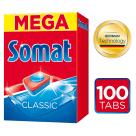 SOMAT Classic Tabletki do zmywarek 100 szt. 1szt