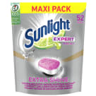 SUNLIGHT Expert Extra Shine Tabletki do zmywarki 52 szt 910 g
