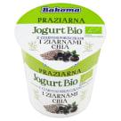 BAKOMA PROZIARNA Jogurt z czarnymi porzeczkami i ziarnami chia BIO 140g