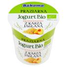 BAKOMA PROZIARNA Jogurt brzoskwiniowy z kaszą jaglaną BIO 140g