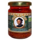TERRE DI LINGURIA Ekologiczny pikantny sos  z suszonych na słońcu pomidorów 135g