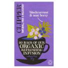 CLIPPER Herbata z czarną porzeczką i owocami acai BIO 20 torebek 1szt