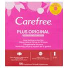 CAREFREE Wkładki higieniczne świeży zapach 56szt 1szt