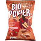 BIO PONT Chrupki kukurydziane o smaku truskawkowym bezglutenowe BIO 70g