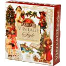 BASILUR Vintage Style Zestaw herbat liściastych aromatyzowanych 40 torebek 1szt