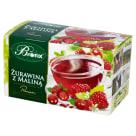BIFIX Premium Żurawina z Maliną Herbatka owocowa 20 torebek 40g