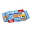 LOACKER Sandwich Wafelek z kremem mleczno waniliowym 25g