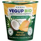 VEGUP BIO Produkt kokosowy mango bezglutenowy BIO 140g