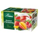 BIFIX Premium Mango z Truskawką Herbatka owocowa 20 torebek 40g