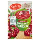 DELECTA Owocowy Kubek Kisiel smak wiśniowy 30g