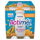 DANONE Actimel Napój mleczny miód-papaja-propolis 4 szt. 400ml