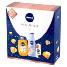 NIVEA Zestaw kosmetyków damskich Touch of Gold 1szt