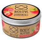BIOLOVE Masło do ciała Truskawka 100ml