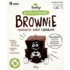 LIVITY Ciasto bezglutenowe Brownie amarantus kakao czekolada 275g