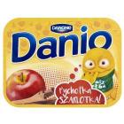 DANONE DANIO Serek homogenizowany jabłkowy z cynamonem 135g
