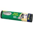 GROSIK Worki 60l 20 szt. 1szt