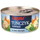 LAGUNA Tuńczyk w kawałkach w sosie własnym 170g