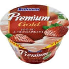 BAKOMA Premium Gold Jogurt truskawkowy 140g