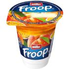 MULLER Froop Jogurt z musem o smaku marakuji i brzoskwini 150g