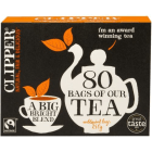 CLIPPER Herbata czarna 80 torebek Fair Trade 1szt