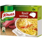 KNORR Rosół wołowy - 6 kostek 60g