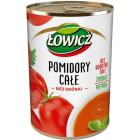 ŁOWICZ  Pomidory całe w puszce 400g