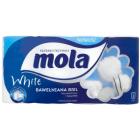MOLA WHITE Papier toaletowy Biały, 8 szt 1szt