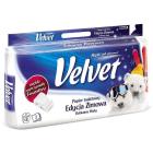 VELVET Delikatnie Biały Papier toaletowy 8 rolek 1szt