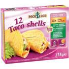 POCO LOCO Taco Shells 12szt. 125g