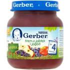 GERBER DESEREK Krem z jabłek i jagód - Po 4 miesiącu 125g