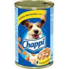 CHAPPI Pokarm dla psów z drobiem i marchewką w sosie - puszka 1.2kg